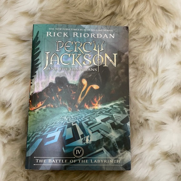 Percy Jackson, the battle of the labyrinth